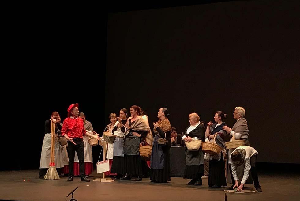 El Auditori de Torrent acoge Málaga Llora, de Cucurucú Teatre