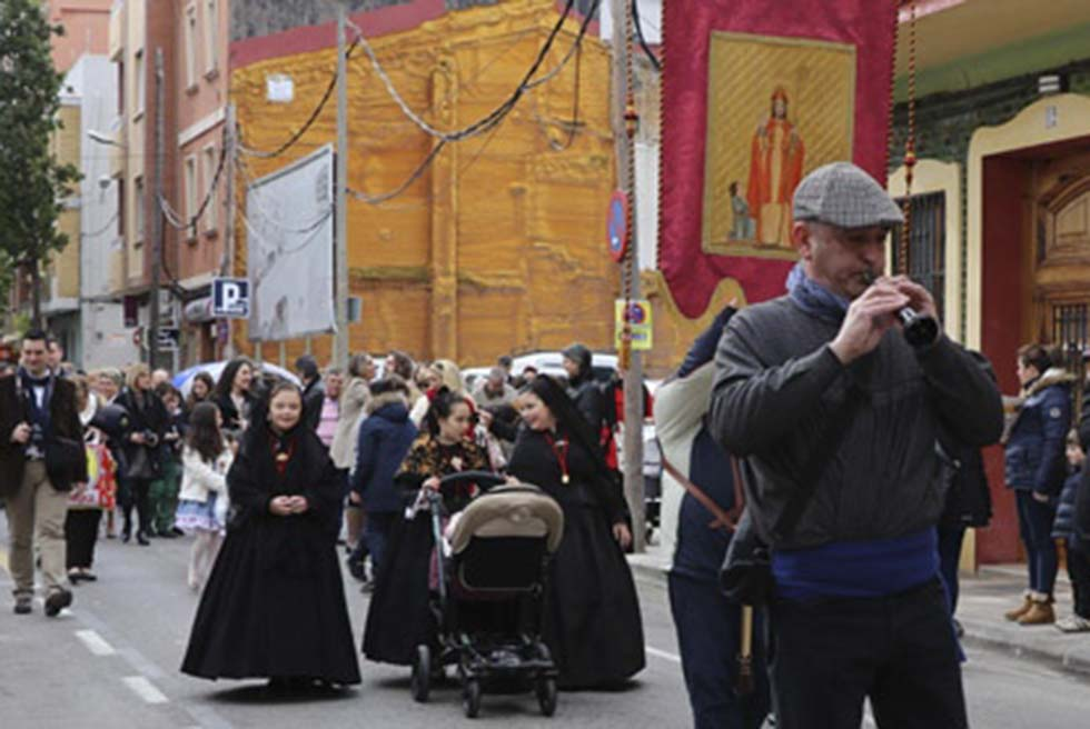 La Passejà del Guió abre las fiestas de Sant Blai