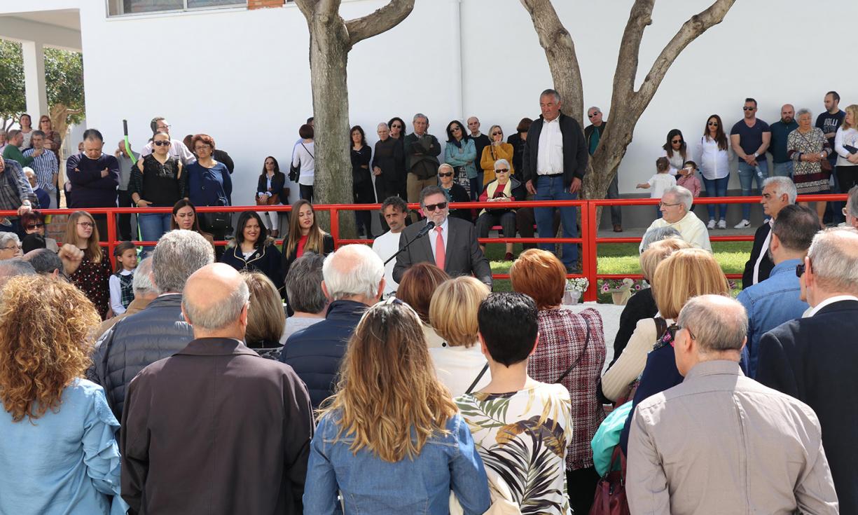 El barrio San Gregorio rinde homenaje al Padre Gerardo