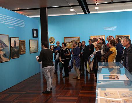 La exposición de Genaro Palau estrena visitas guiadas