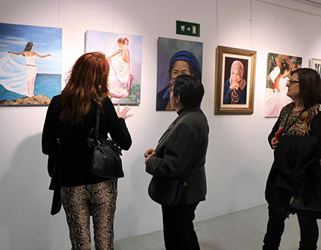 Torrent d'Art estrena la exposición Dones de cine