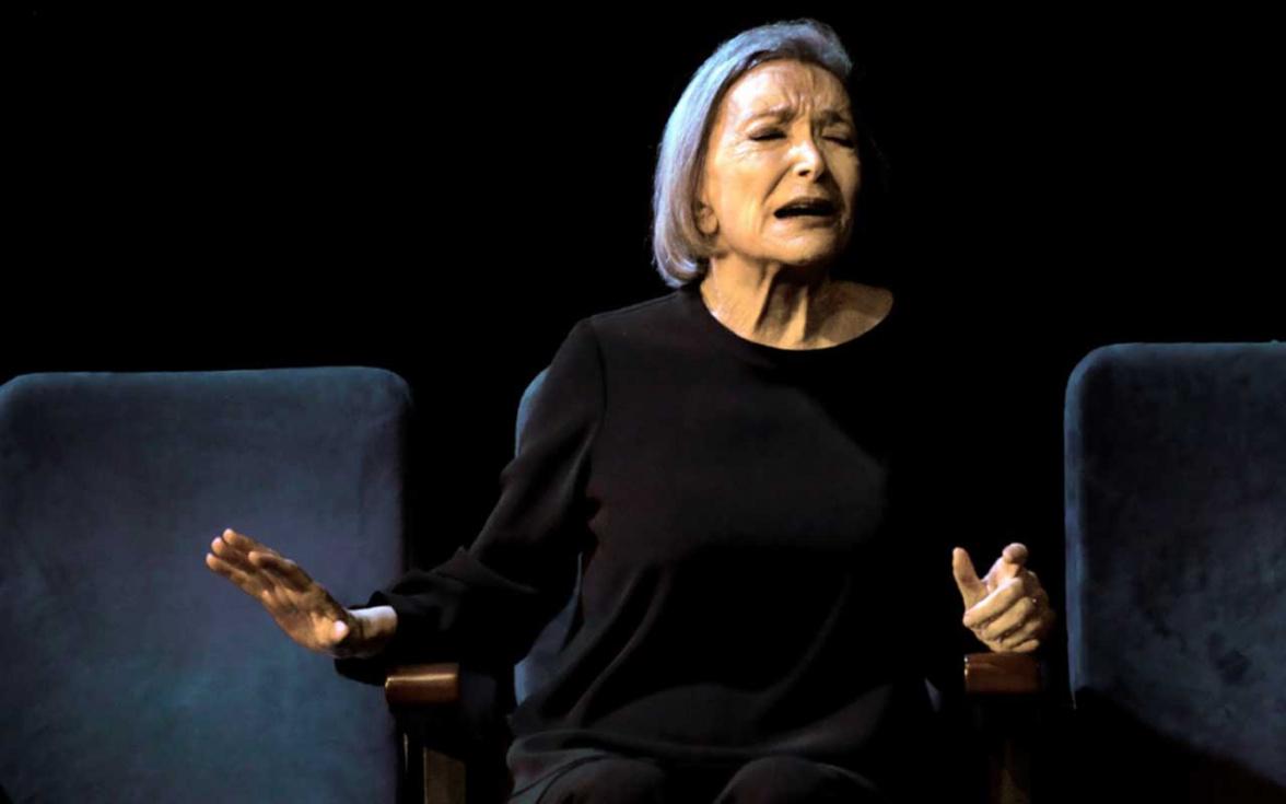 Nuria Espert y Carmelo Gómez homenajean a Lorca en el Auditori