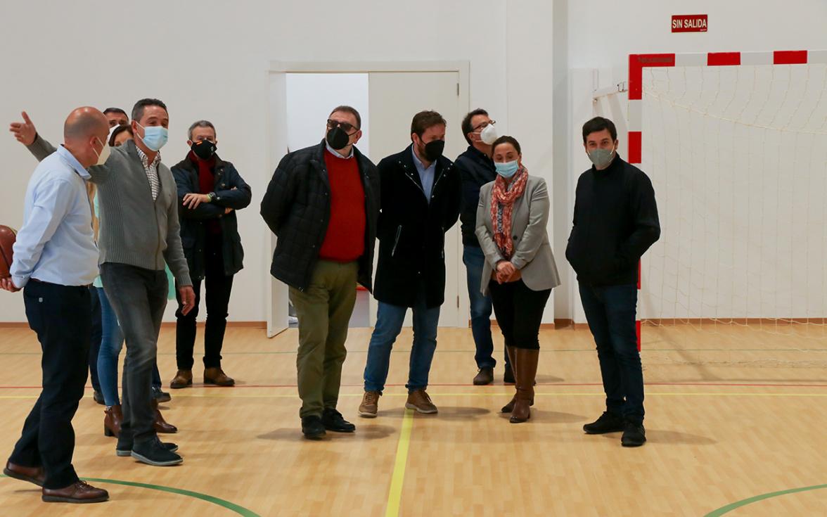 Finalizan las obras del nuevo pabellón deportivo de El Toll L'Alberca