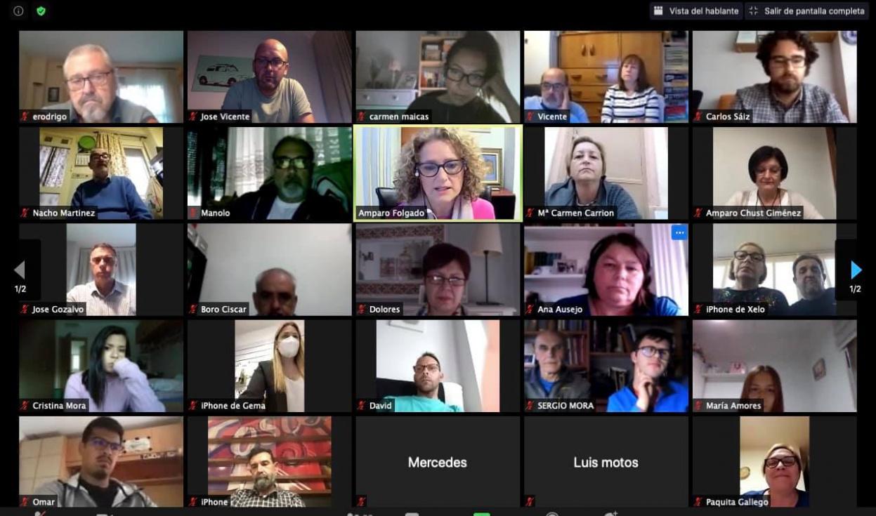 """Folgado se reúne con los afiliados de Torrent para presentar su proyecto: """"Un PP fuerte para una gran ciudad"""""""
