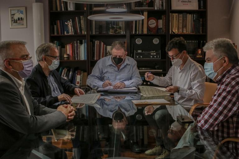 Torrent renueva su compromiso con el Instituto de Estudios Comarcales de L'Horta Sud