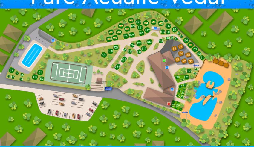Todo a punto para bañarse en el parque acuático Parc Vedat