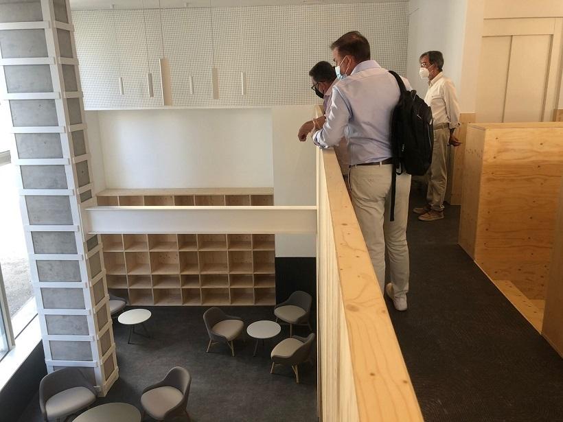 Torrent finaliza las obras de la nueva biblioteca del Parc Central