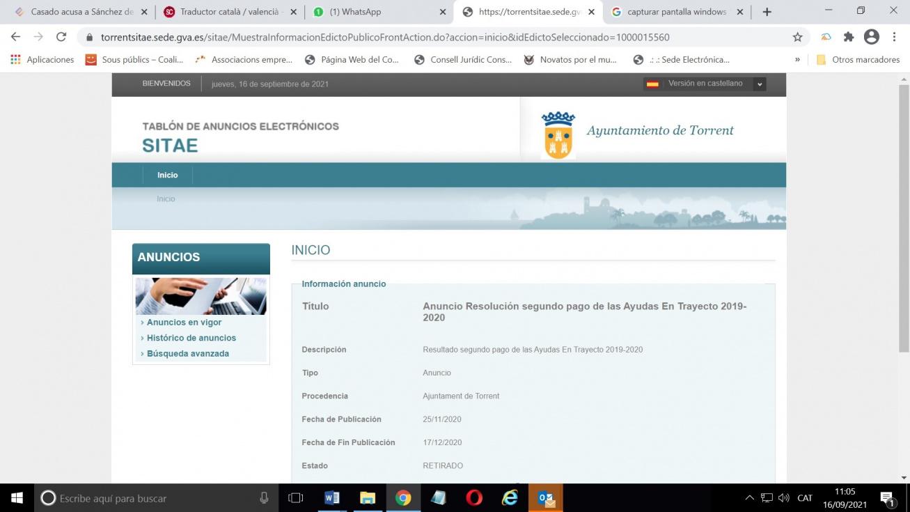 Compromís denuncia la desaparición de las becas al transporte para estudiantes