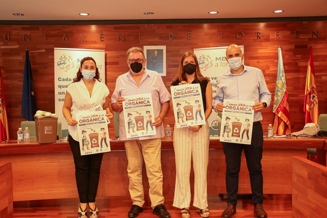 Torrent promueve las prácticas de movilidad sostenible en la Semana Europea de la Movilidad
