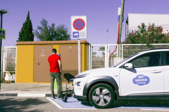 Torrent avanza en el Plan de Movilidad Sostenible con la instalación de puntos de recarga para vehículos eléctricos