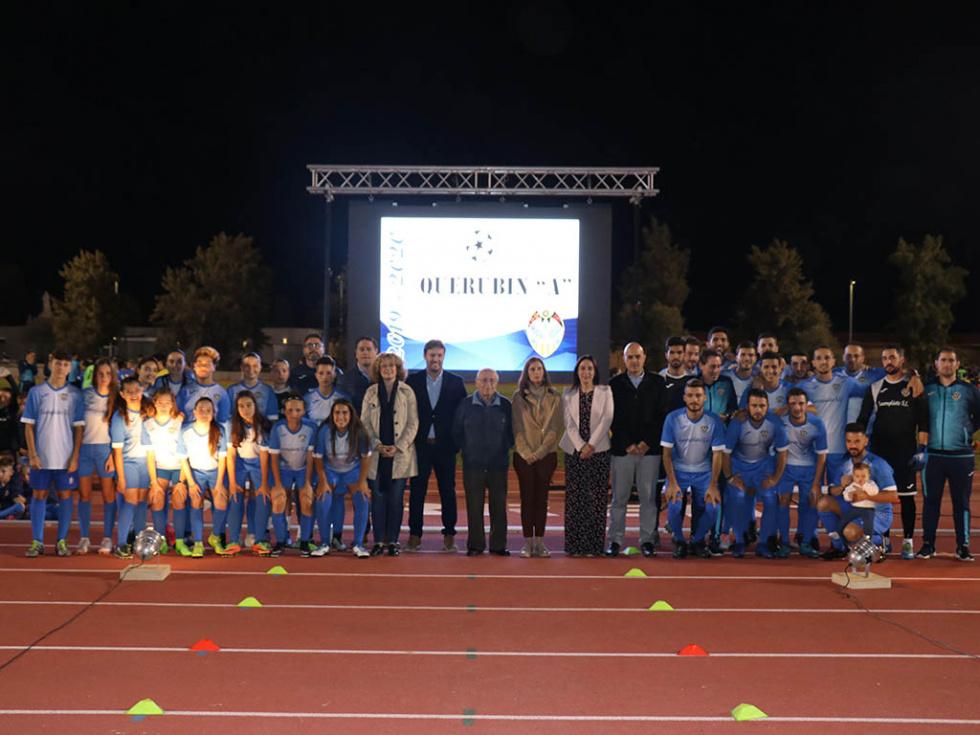 El CD Monte Sión presenta a sus 400 jugadores y jugadoras