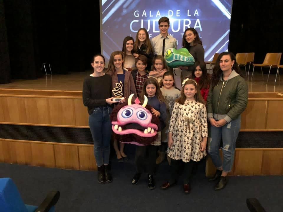 La falla Lope de Rueda gana el concurso infantil de teatro fallero