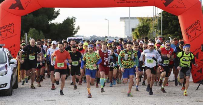 400 runners participen en la Cursa X Serra Perenxisa