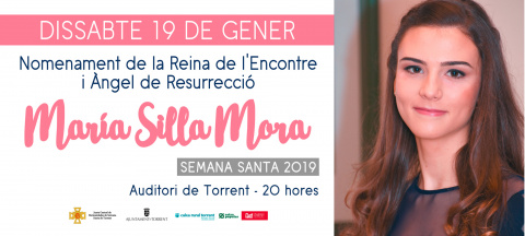 María Silla Mora serà nomenada com a Reina de 2019