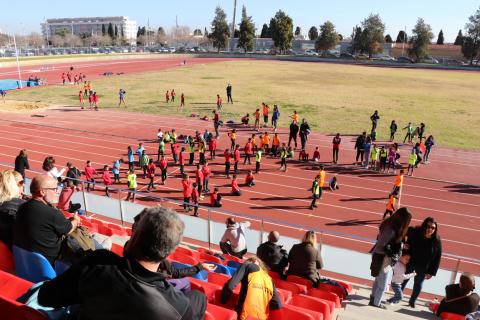 Torrent reuneix a més de 700 xiquetsen la Trobada d'Escoles Esportives