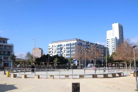 La pista de patinatge de Parc Central doblarà la seua grandària
