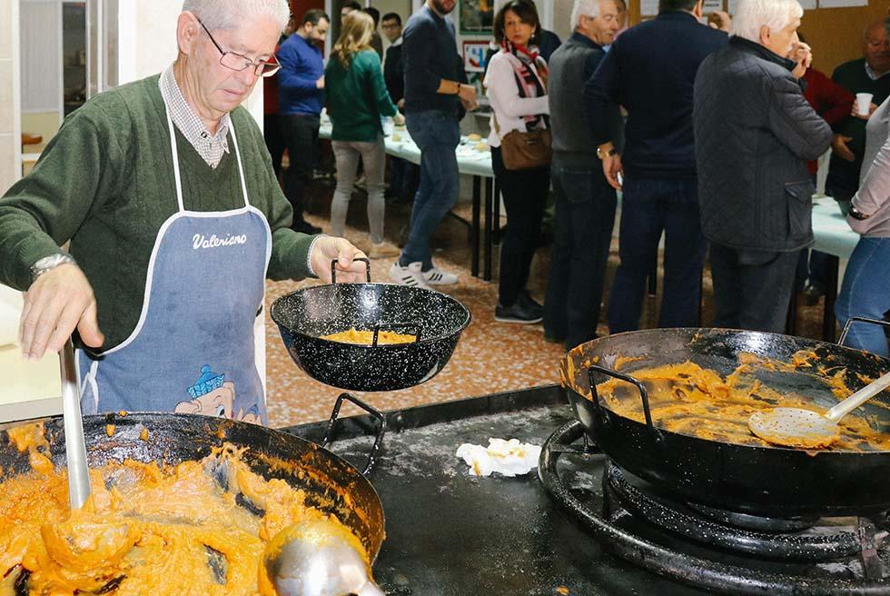 Els Manxegos celebren Sant Antoni amb una jornada gastronòmica