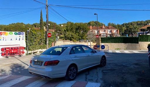 La circulació de Joaquín Costa canvia i serà d'un únic sentit en direcció al Toll