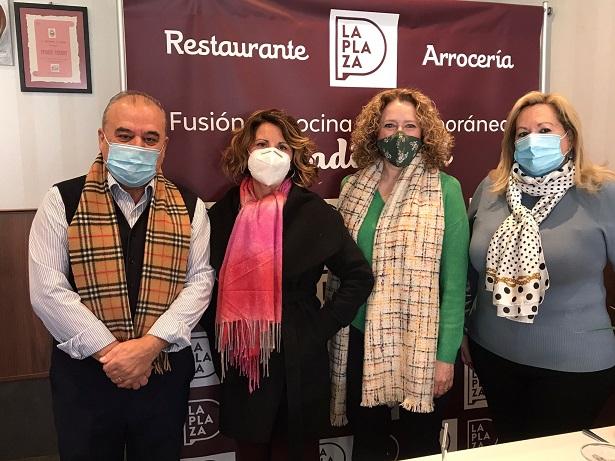 Folgado es reuneix amb l'associació gastronòmica Cassola de Sant Blai