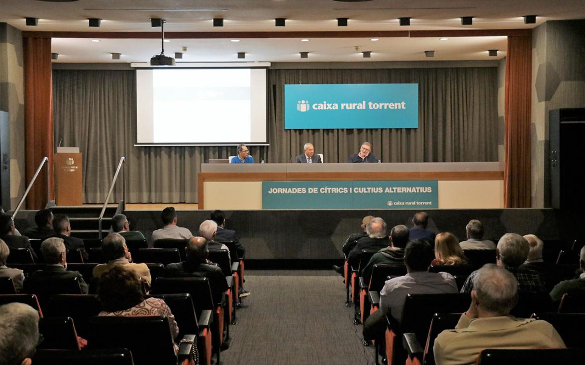 Caixa Rural de Torrent clausura les XLI Jornades de Cítrics i Cultius Alternatius