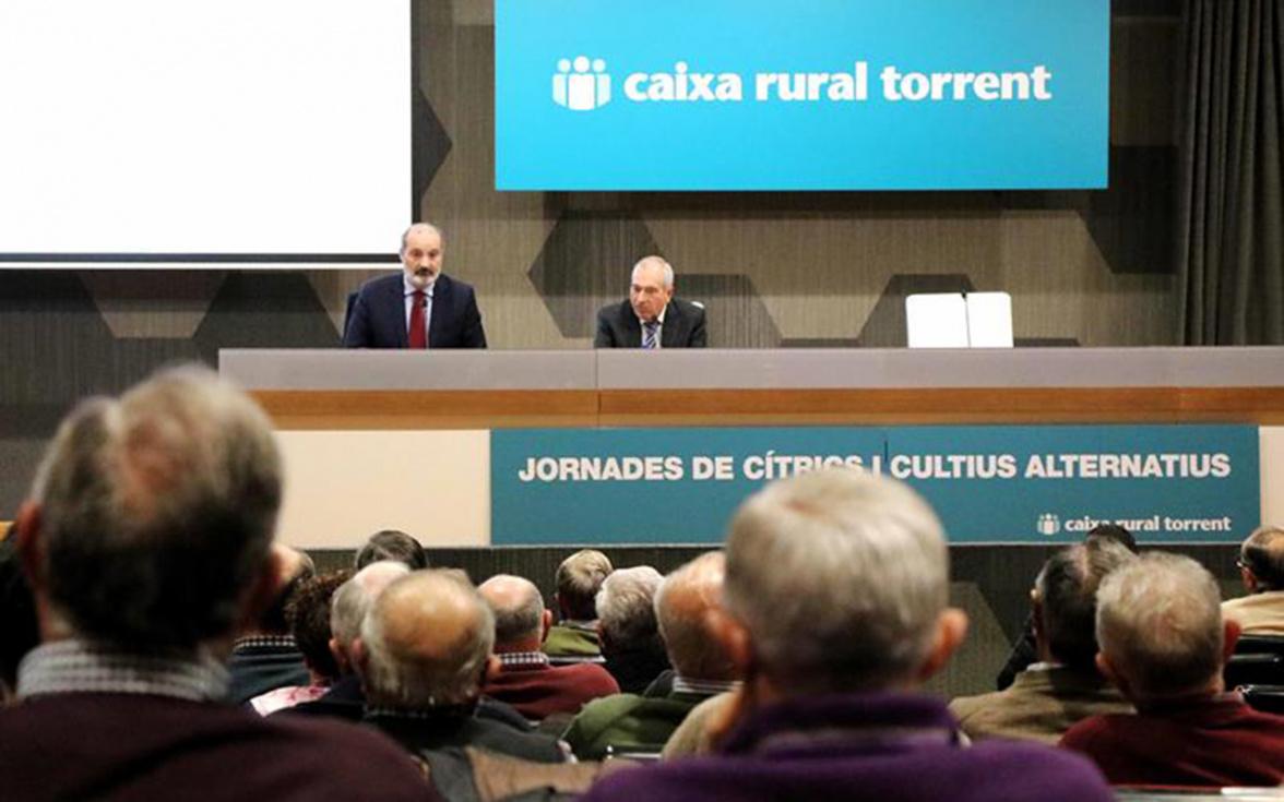 Caixa Rural celebra la 41 edició de les 'Jornades de Cítrics i Cultius Alternatius '