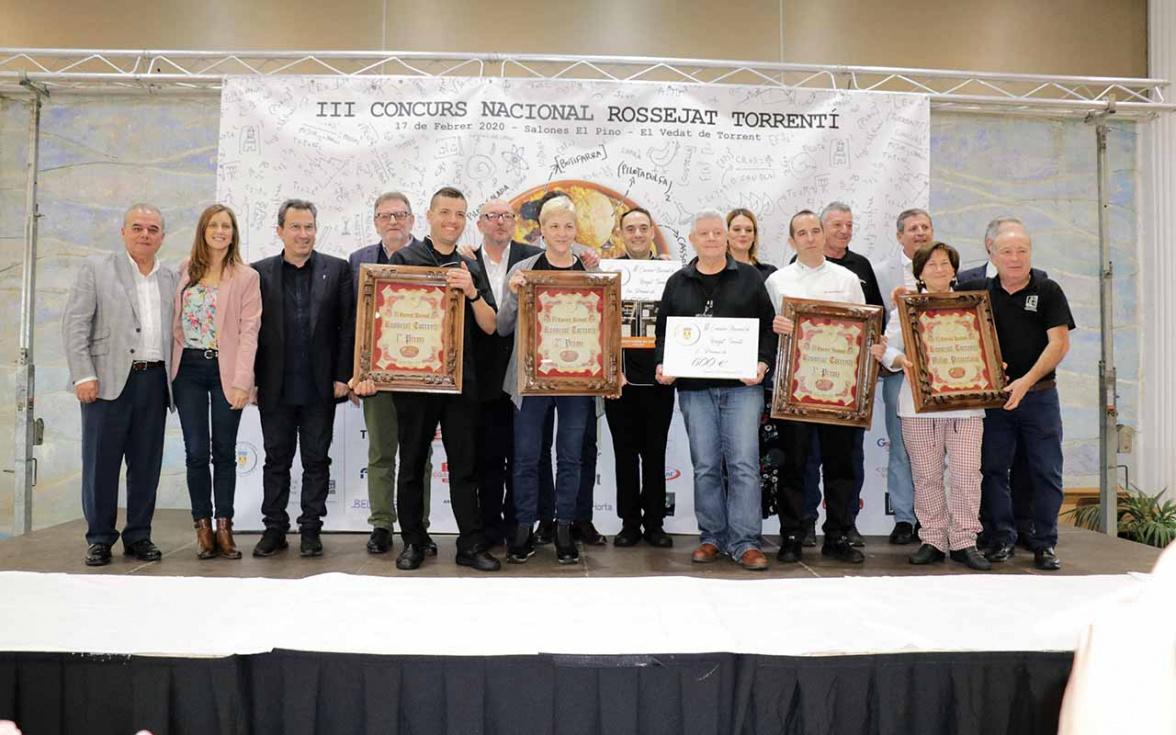 Restaurante La Bodega de Torrent guanya el Concurs de Rossejat