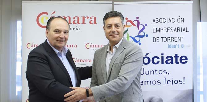 ASET signa un conveni amb Cámara Valencia