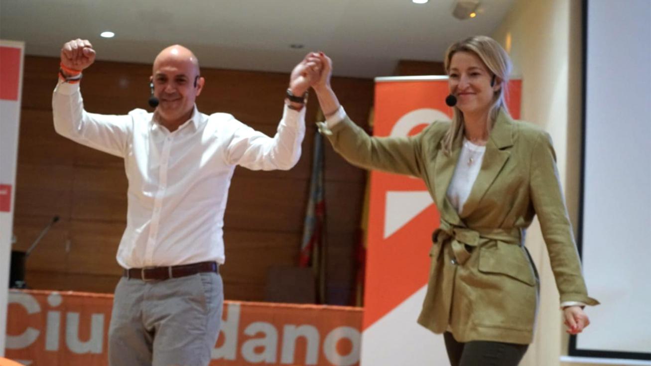 Ciutadans tanca la campanya a Torrent demanant el vot del canvi taronja