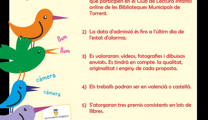 Torrent llança un concurs perquè els xiquets recomanen llibres