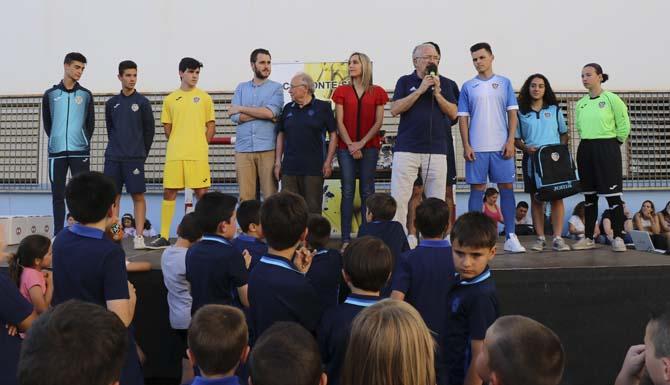 El C.D Monte Sión celebra la fi de temporada amb l'entrega de trofeus