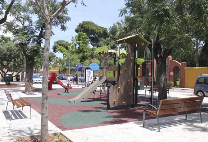 Acabades les obres al barri Virgen de la Paloma