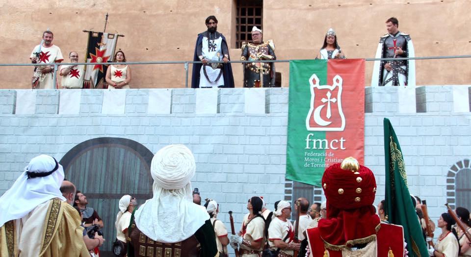 Un castell de fusta presidirà les festes de Moros i Cristians en pròximes edicions