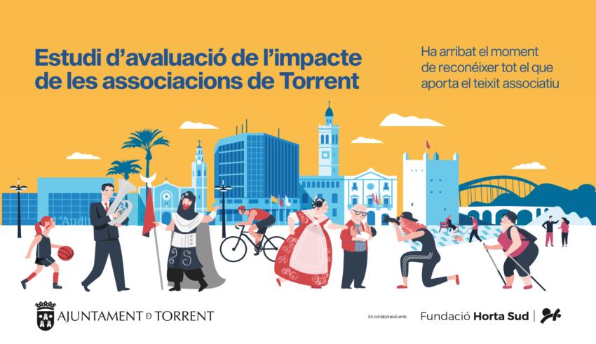 En marxa el primer estudi per a avaluar l'impacte dels associacions de Torrent