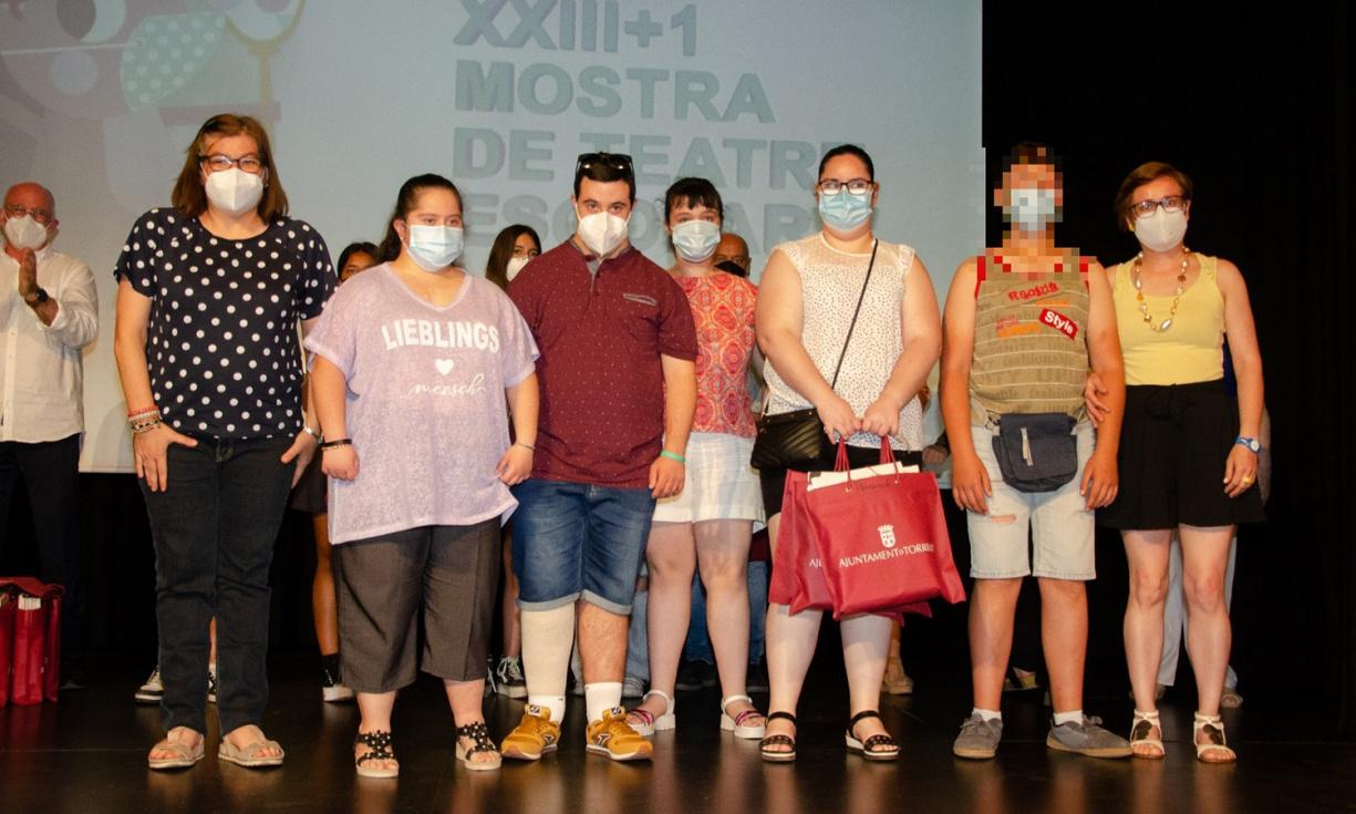 Acte de cloenda de la XXIII + 1 Mostra de Teatre Escolar