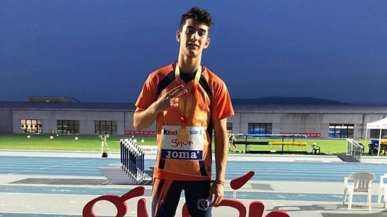 Dos esportistes del Club d'Atletisme pugen al podi del Campionat d'Espanya
