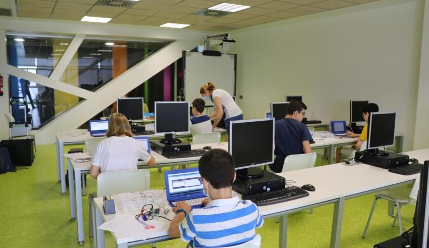 Anglés, Stop Motion i robòtica als cursos d'estiu del CIJ