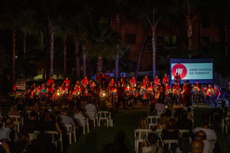 La Unió Musical de Torrent celebra el seu concert de final de curs en L'Hort de Trénor