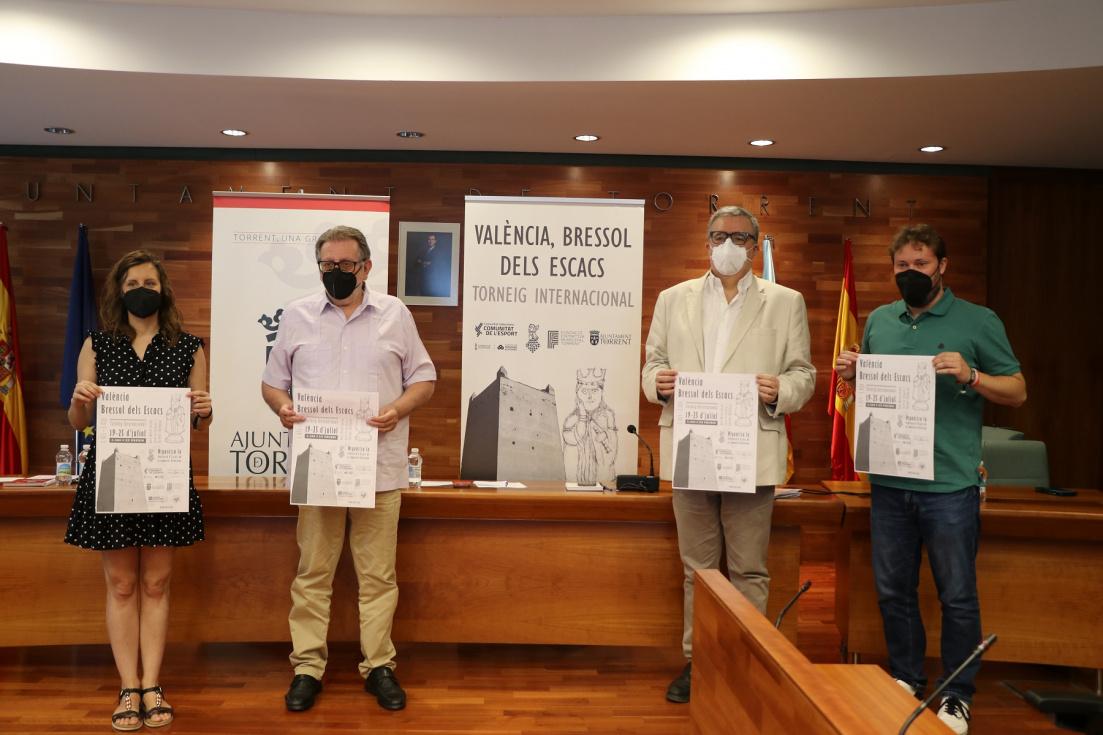 Torrent acull el torneig internacional d'escacs 'València, bressol dels escacs'