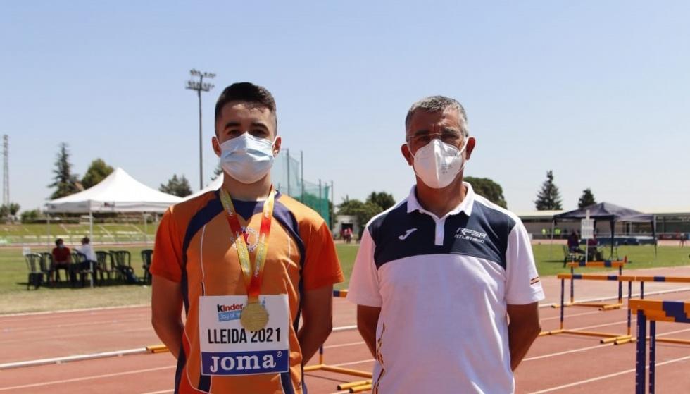Álex López i Rocio Jara es proclamen campions d'Espanya en salt de longitud i salt d'alçada respectivament