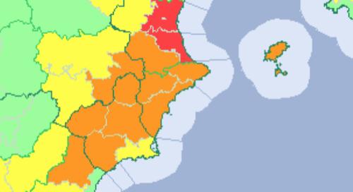 L'Avamet decreta l'alerta roja per temperatures extremes a Torrent