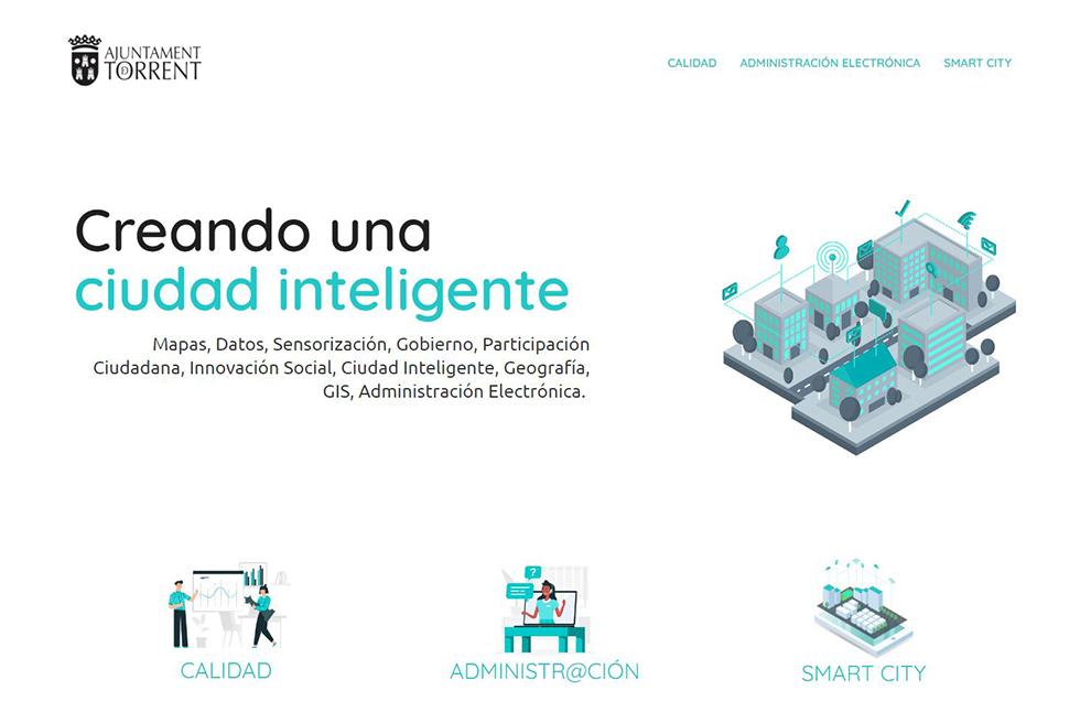 L'Ajuntament posa en marxa una web amb tots els projectes Smart City de Torrent