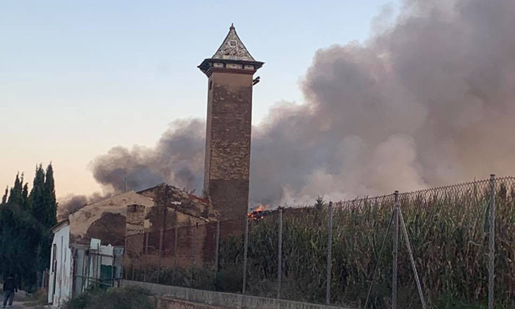 La planta de tractament de residus de Gemersa pateix un nou incendi