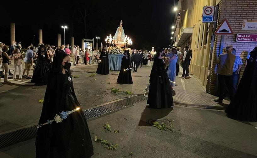Tornen les processons amb la Mare de Déu dels Dolors i Mont-Sió