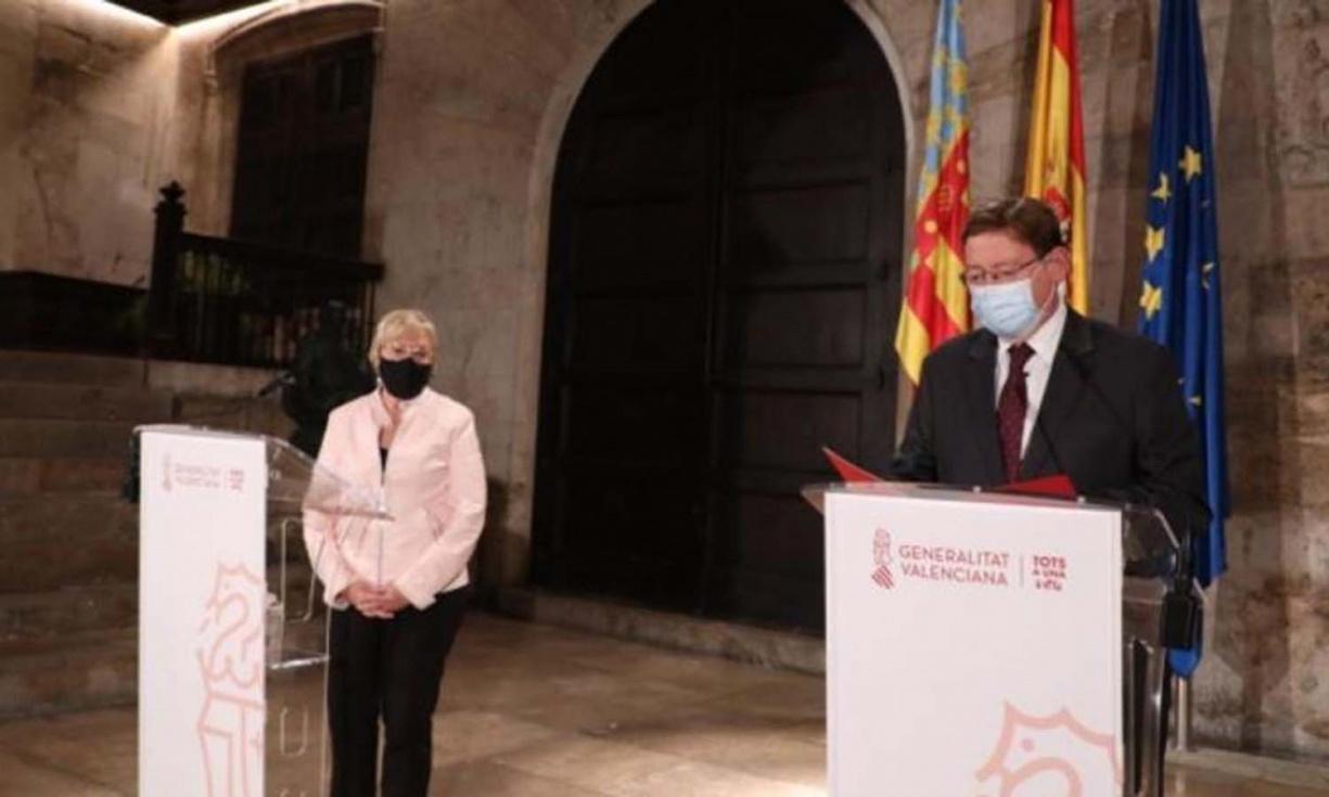 Puig prepara una resolució jurídica per a instaurar el toc de queda