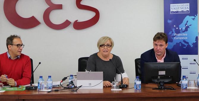 L'Ajuntament exposa els seus projectes de EDUSI a Múrcia