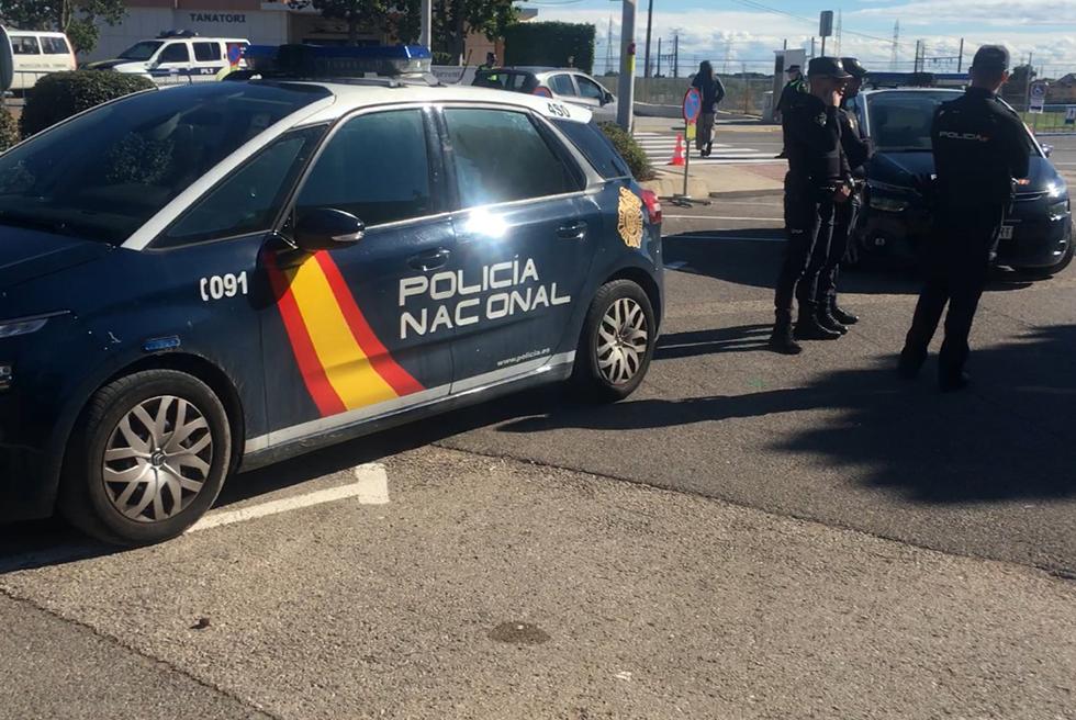 Acordonen el Cementeri de Torrent després de dos avisos falsos de tiroteig al 112