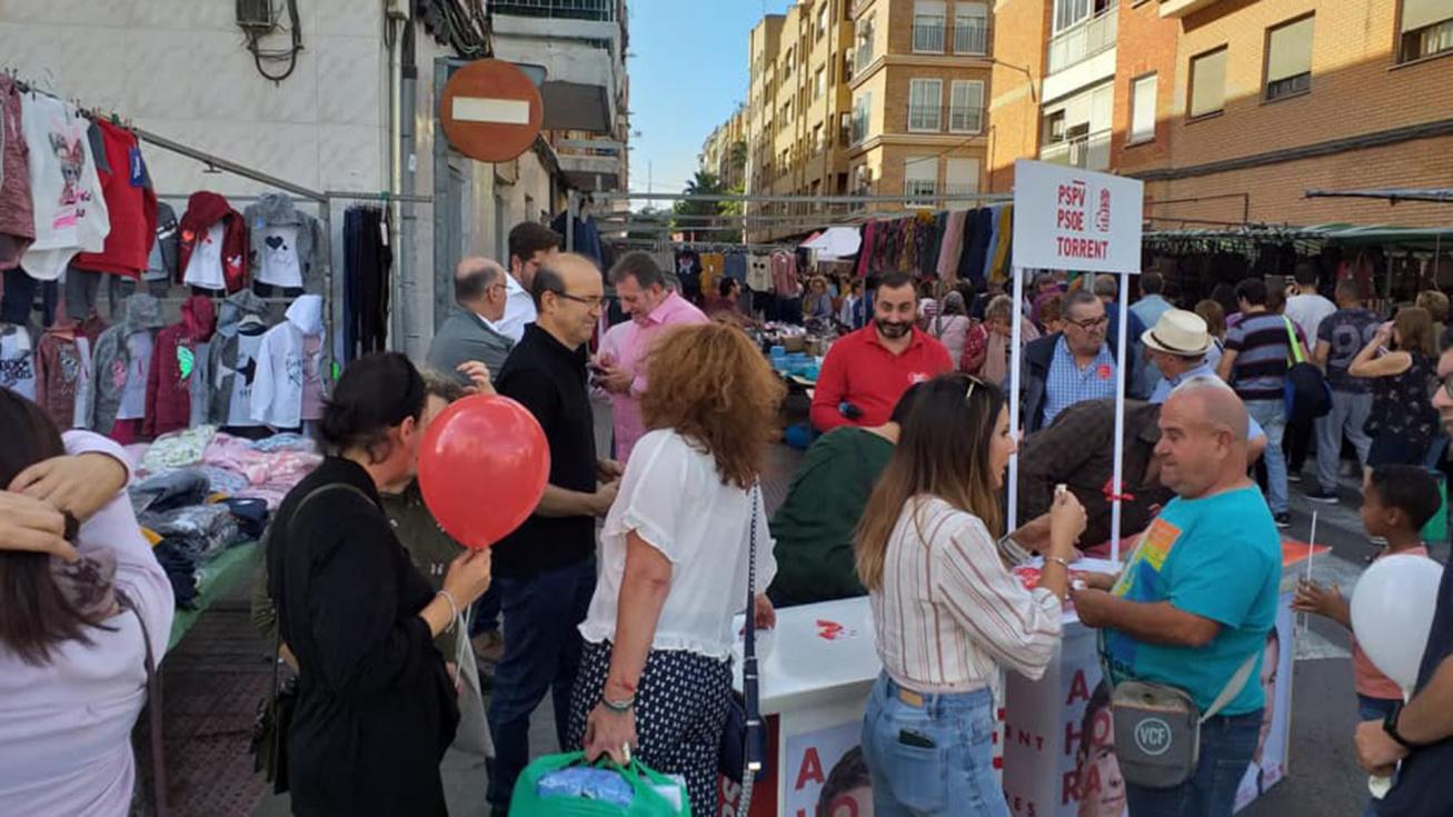 El PSOE guanya les eleccions a Torrent però perd vots
