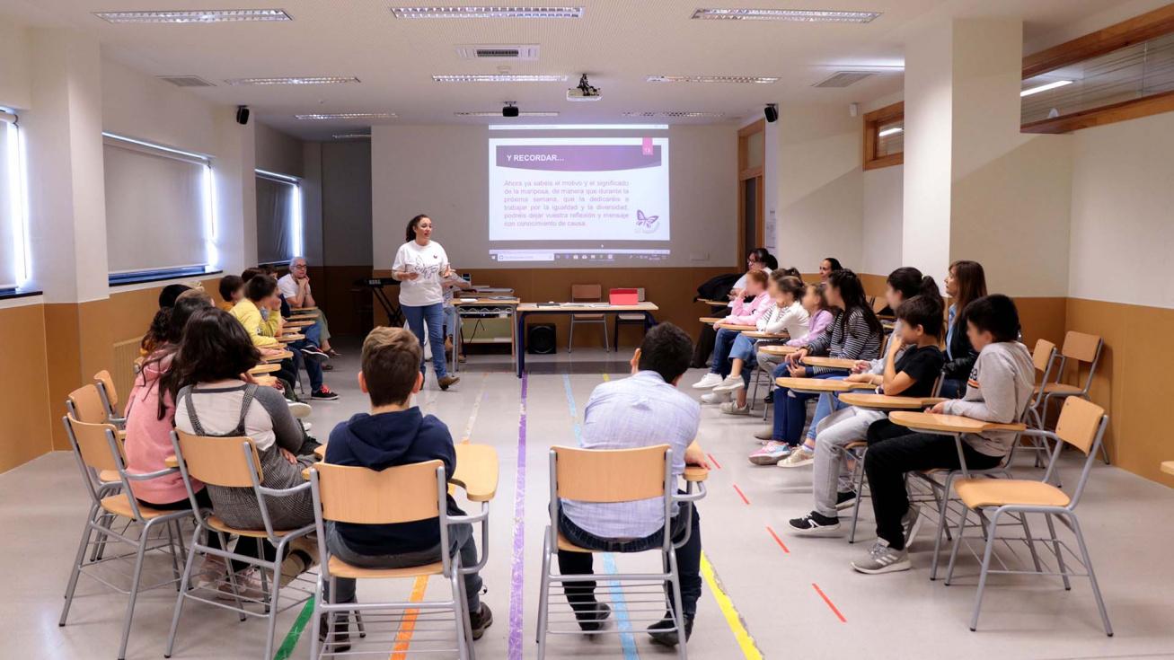 Els menors protagonistes els tallers per a l'eliminació de la violència contra les dones
