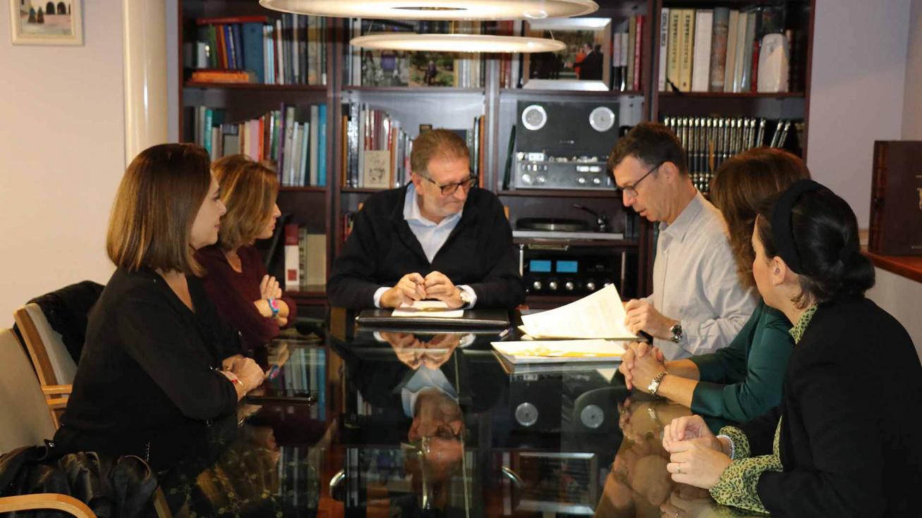 L'Ajuntament signa un conveni de col·laboració amb Florida Universitària