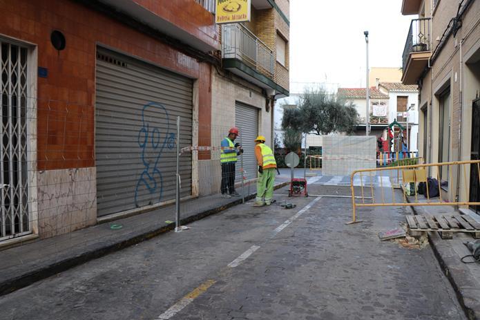 Comença el projecte de millora dels carrers Sant Pere d'Alcàntera i Garbí